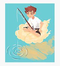 Cloud Fishing Photographic Print