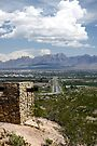 Entering Las Cruces by Larry Costales