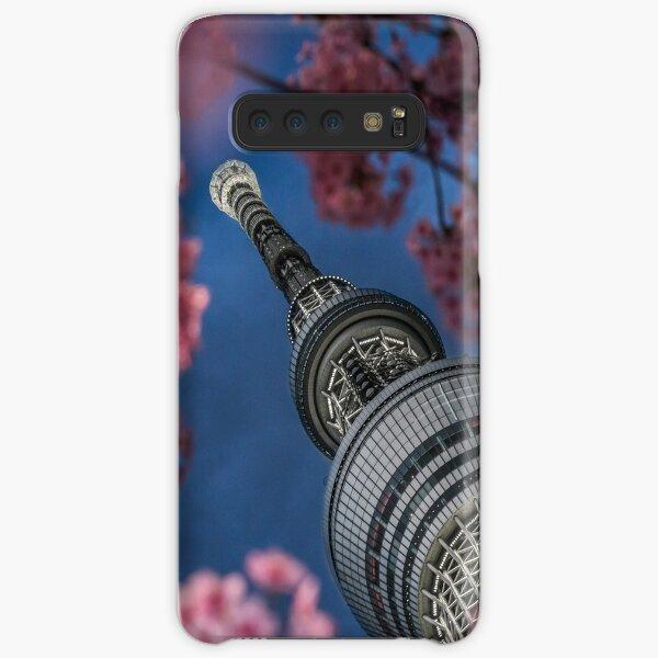Sakura and the Tokyo Skytree Samsung Galaxy Snap Case