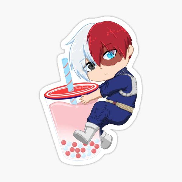My Hero Academia Shoto Todoroki Milktea Sticker