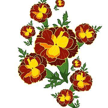 Marigold by mitalim