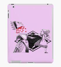 Alice vs. The Red Queen iPad Case/Skin
