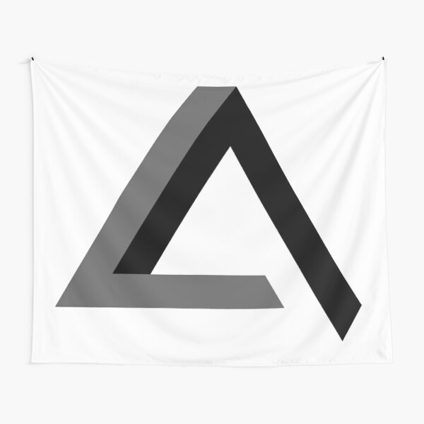Triangle 3-d  Tapestry