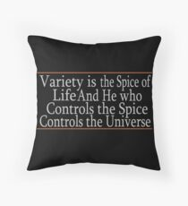 Variety Is The Spice Throw Pillow