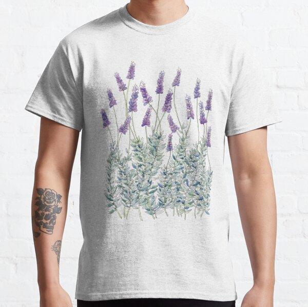 Lavender, Illustration Classic T-Shirt