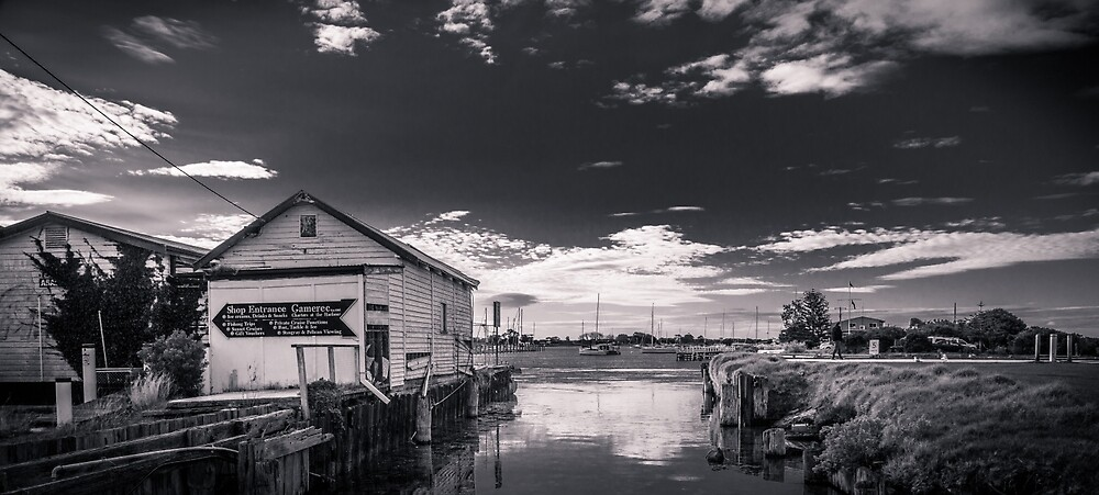 Old Queenscliff Boat Ramp by Neil Robinson