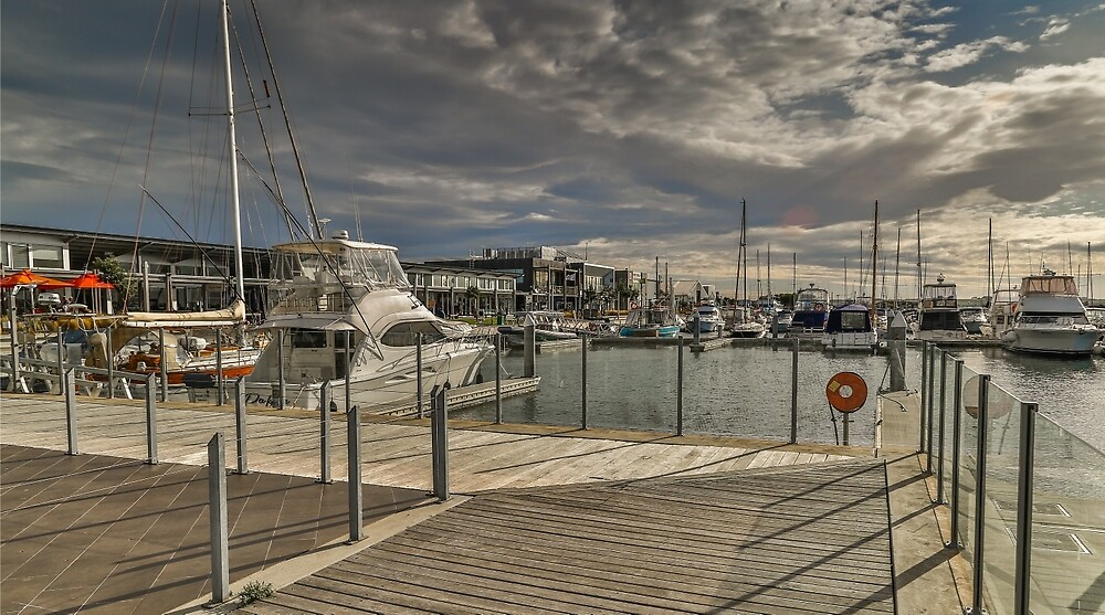 Queenscliff Harbour by Neil Robinson