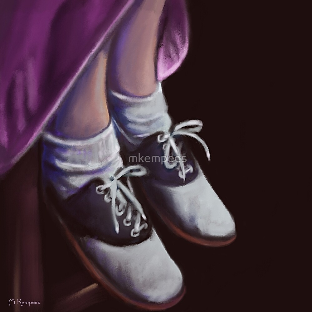 Saddle Shoes by mkempees