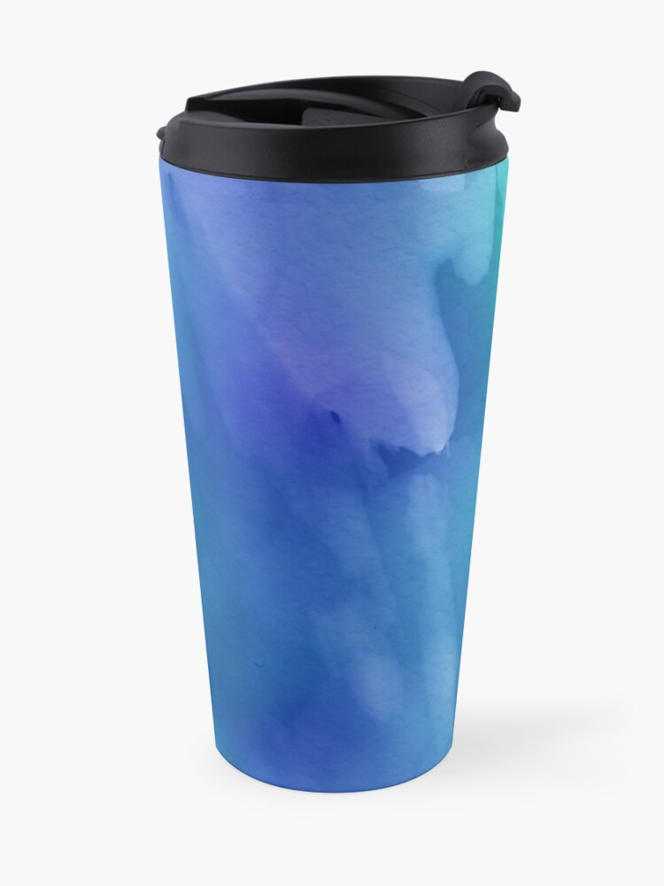 Alternate view of Decorative products in watercolor Travel Mug