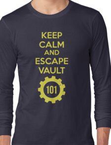 Keep Calm Vault 101 Long Sleeve T-Shirt