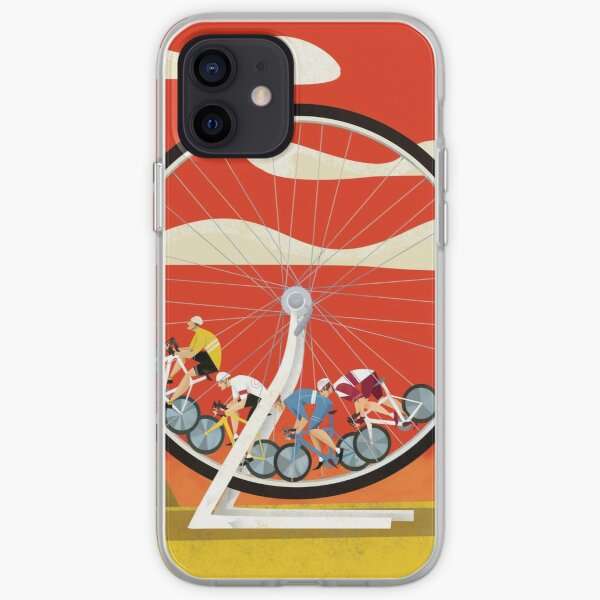 Road Cycle Racing on Hamster Power iPhone Soft Case