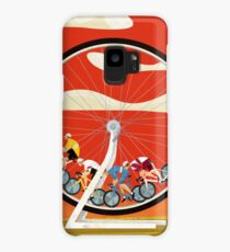 Road Cycle Racing on Hamster Power Case/Skin for Samsung Galaxy