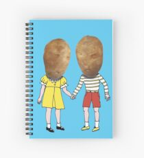 small potatoes Spiral Notebook