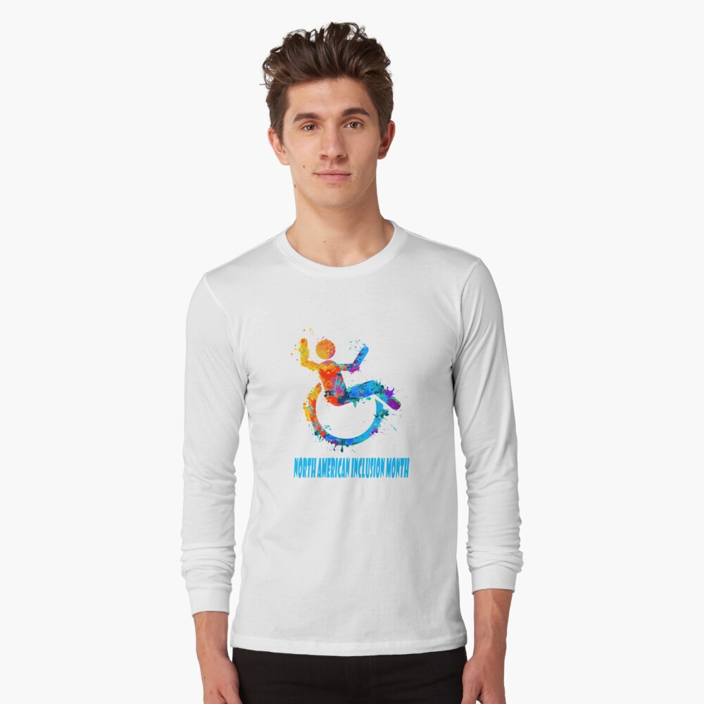 February - North American Inclusion Month Langarmshirt