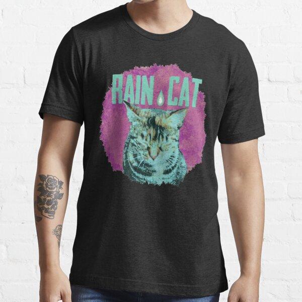 Katze im Regen 2 Essential T-Shirt