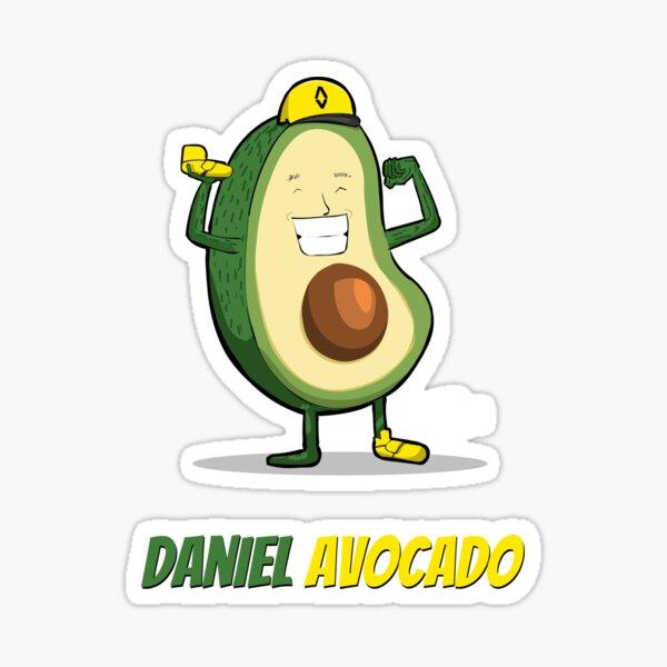 Daniel Avocado  Sticker