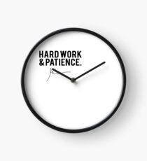 Reloj Copia de Gary Vaynerchuk / Gary Vee - Trabajo duro y paciencia - NEGRO