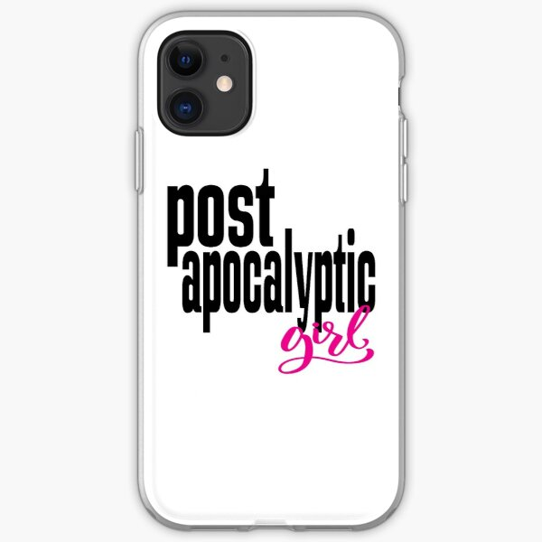 Post Apocalyptic Girl iPhone Soft Case