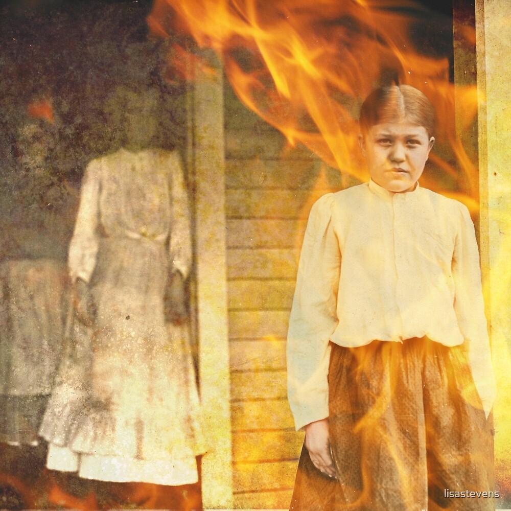 Burning girl by lisastevens