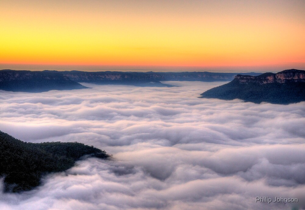 Natures Blanket - Blue Mountains World Heritage Area, Sydney - The HDR Experience by Philip Johnson
