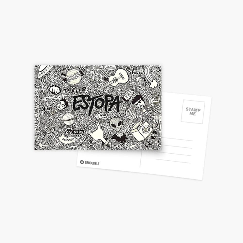 Estopa Postcard