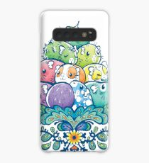 Blooming Piggy Pile  Case/Skin for Samsung Galaxy