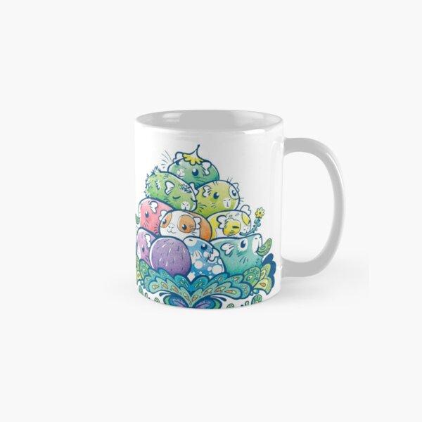 Blooming Piggy Pile  Classic Mug