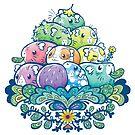 Blühender Piggy Pile von Paigekotalik
