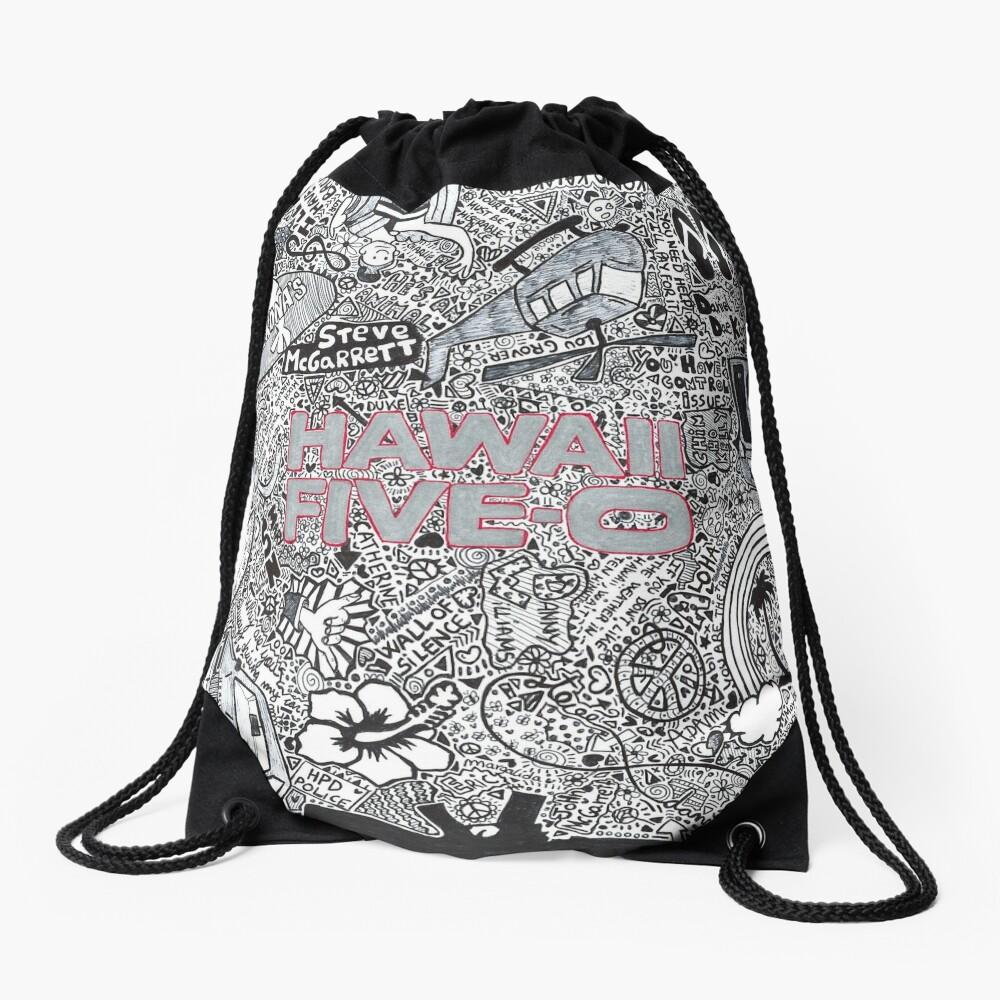Hawaii Five-0 Drawstring Bag