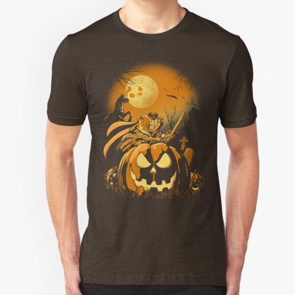 Haunted Horseman Slim Fit T-Shirt
