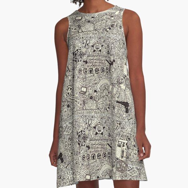 Sense8 :) A-Line Dress