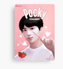 BTS Pocky - Jin Leinwanddruck