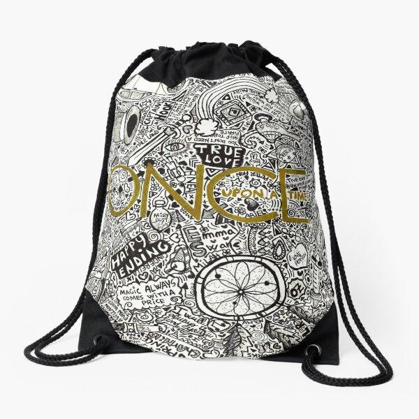 Once Upon a Time Drawstring Bag