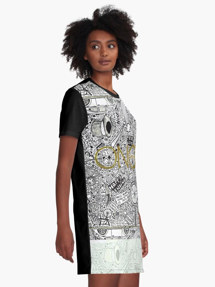Alternative Ansicht von Es war einmal T-Shirt Kleid