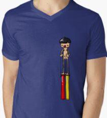 Ned is REALLY Tall Men's V-Neck T-Shirt