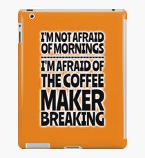 Morning Coffee - No Worries iPad Case/Skin