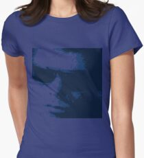 Lou Reed 1966 Blue Womens Fitted T-Shirt
