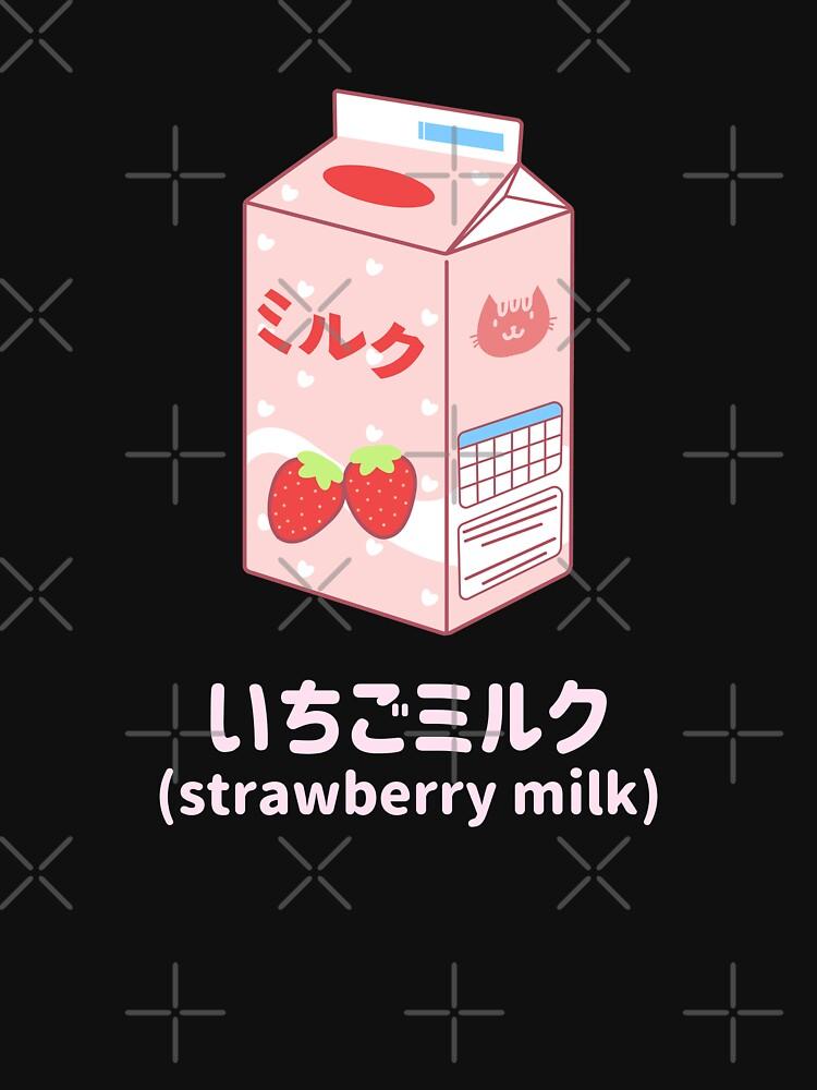 Strawberry Milk by ockshirts