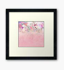 Botanical Fragrances in Blush Cloud-Ιmmersed Framed Print