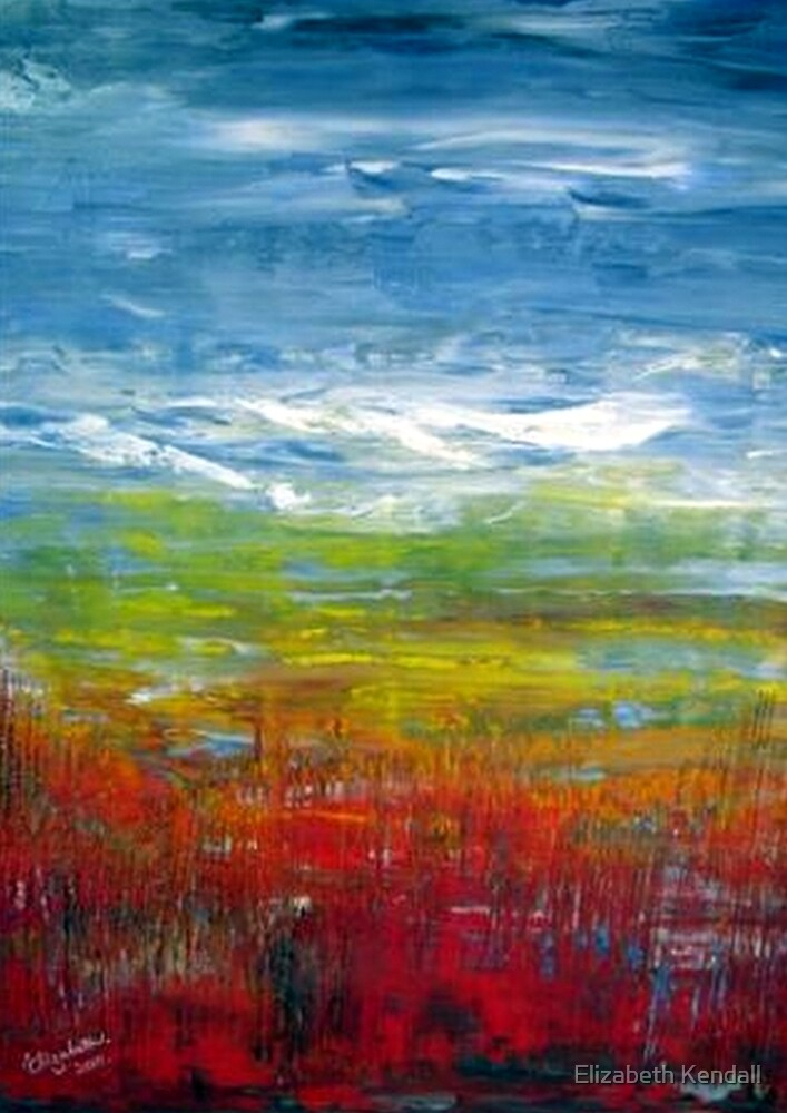 Abstract in oil. by Elizabeth Kendall