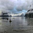 Fiord Milford Sound New Zealand Südinsel von OLena Art von OLena  Art ❣️
