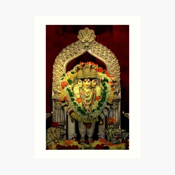 The Deities of India - Lord Dattatreya Art Print