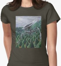 War of the Worlds Women's Fitted T-Shirt