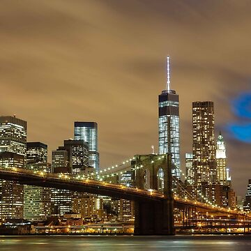 Brooklyn Bridge, New York City by EdmondHoggeJr