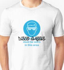 Disco Glasses Unisex T-Shirt