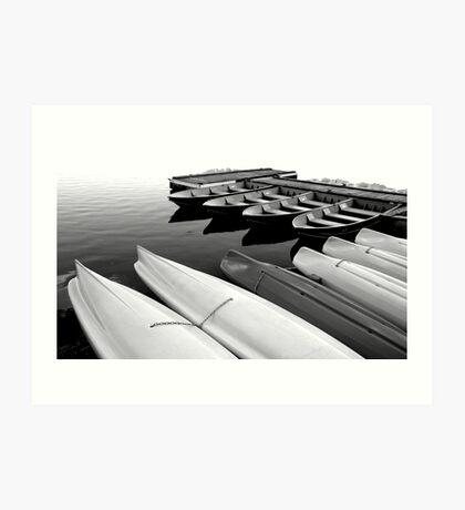 Kayaks for Rent #2 Art Print