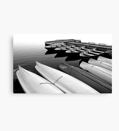 Kayaks for Rent #2 Canvas Print