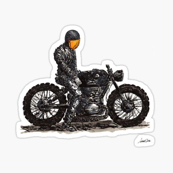 Rider 6 Sticker