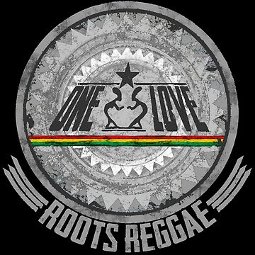 One Love Roots Reggae - Dein neues Raggaeshirt, der Festivalsommer kann kommen! von Periartwork