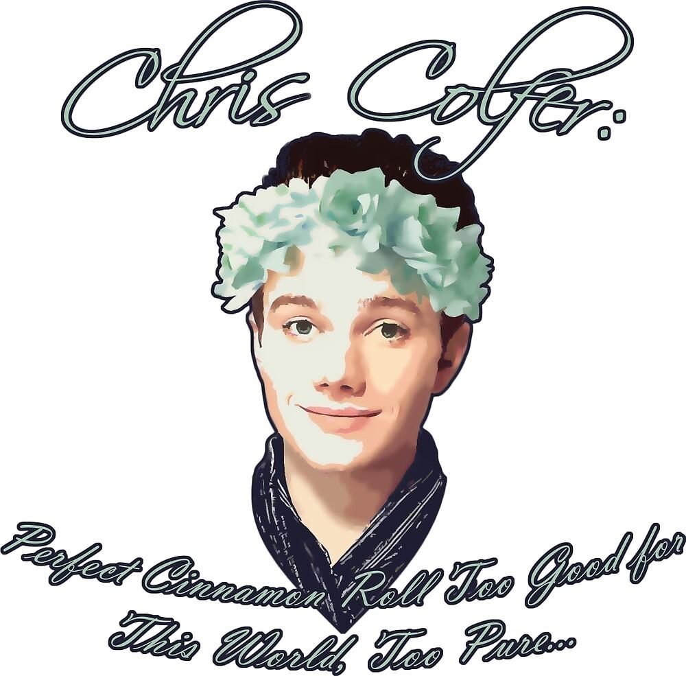 Chris Colfer: Perfect Cinnamon Roll by SedatedArtist